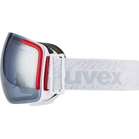 UVEX Big 40 LM Gafas, white mat/litemirror silver grey